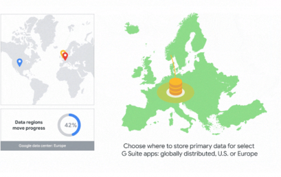 GDPR Europa som region for dine data